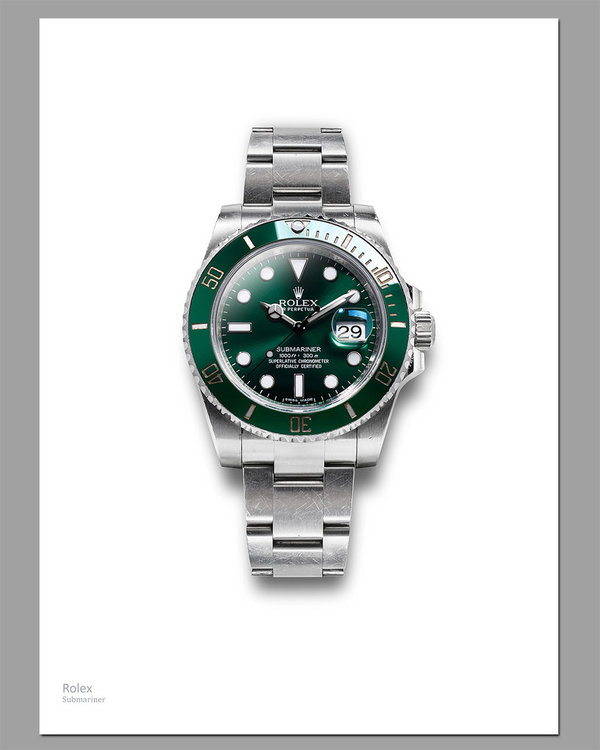 Artprint Rolex Submariner with Strap DIN A2
